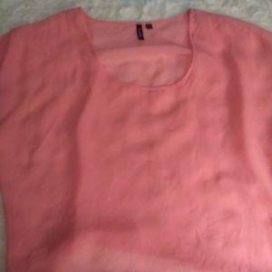 Simple Sheer Pink Blouse